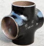 Té d'ajustage de précision de pipe d'acier du carbone