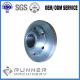 China passte Chrom-Überzug-Stahlpräzision CNC an, der geschmiedetes Stahlprodukt mit Gussteil u. der maschinellen Bearbeitung maschinell bearbeitet
