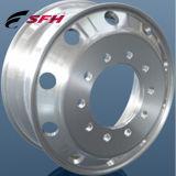 Rotella di alluminio forgiata lucidata e lavorata 22.5X8.25 del camion