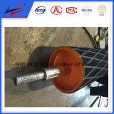 Transportador de correia Polia de aço carbono Polia de coroa, polia de asa