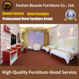 Meubles d'hôtel/doubles meubles de luxe de chambre à coucher/suite de chambre à coucher normale de double d'hôtel/doubles meubles de pièce d'invité d'hospitalité (GLB-0109858)