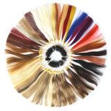 100%の人間の毛髪カラーリングカラーシート