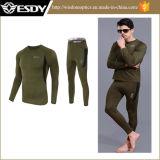 Нижнее белье Mens зеленого цвета термально одевает нижнее белье Esdy
