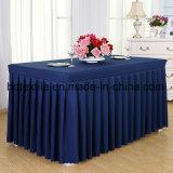 Commerce de gros de haute qualité 100% polyester Tissu de la table pour l'hôtel /Mariage