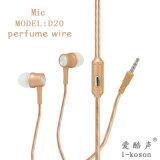 OEMのロゴの新しいStyelの耳のよい低音のマイクロフォンのイヤホーン