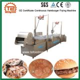 Hamburger contínuo do certificado do Ce que frita a máquina
