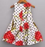 Fashion DOT Frock in Chidlren Dress with Baby Clothes