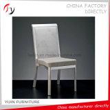 Стул Hall мебели приема серебряной ткани рамки серой деревянный имитационный (BC-182)