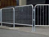 /Galvanizedのオーストラリアの標準一時囲う塀