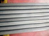 Tubo/tubo de alta resistencia reforzados fibra de la fibra del carbón del carbón