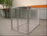 6ftx10FT métalliques de grande taille Chenil de maillon de chaîne à bon marché pour les USA