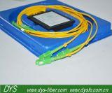 1X4 싱글모드 광섬유 쪼개는 도구 Sc/APC 연결관