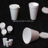 Plastica della gomma piuma di ENV una tazza dalle 8 once che forma le tazze che fanno macchina