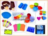 Marca de fábrica del silicón del tubo del molde/del hielo de la torta que forma la máquina en la categoría alimenticia para las herramientas de la cocina