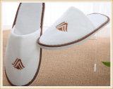 Terciopelo personalizados Hotel EVA desechables zapatilla