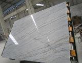 Marbre gris de marbre blanc de veine de brame de marbre blanche de Guangxi