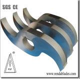 L'axe double lame déchiqueteuse/couteau pour la coupe de câble en cuivre