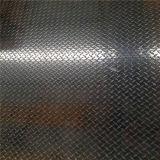 Checkered Aluminiumplatte 6063 mit 2 Streifen