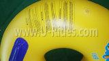 Над наложением кружка Надувное плавательное кольцо Однотрубная трубка для аквапарка