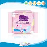 Preiswerte weibliche direkt angebende Hygiene-Produkt-Dame-gesundheitliche Serviette-China-Fabrik