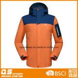 Moda masculina impermeável jaqueta esporte 3 em 1