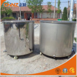 De Beweegbare Tank van het roestvrij staal met Universeel Wiel