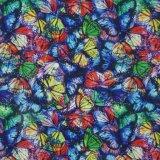 Oxford 600d a impressão de flores de tecido de poliéster (KL-21)