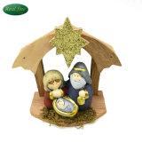 Artes artesanía de cerámica de la Figurilla Belén de Navidad