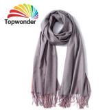 Lenço de dois tons, feitos de lã, algodão, poliéster, acrílico ou Royan, tamanhos, cores disponíveis