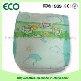 Uma fábrica de barata suave descartável Grau de boa qualidade para o mercado de Gana fraldas para bebé