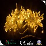 Wasserdichte Weihnachtszeichenkette-Lichter des Gelb-LED
