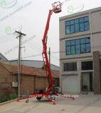 Repliage hydraulique de levage du bras de plate-forme pour le travail de l'antenne