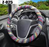 車のハンドルカバーハンドルバーのブレードのハンドルの覆いの自然なファイバーの反スリップ通気性の各国用様式38cmの自在継手