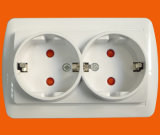 Europa Market Surface Mounted Wall Switch und Socket