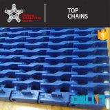 900 - Y002シリーズ平屋建家屋の鎖のダイナミックなフィルターモジュラープラスチックコンベヤーベルト