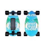 Groothandel Canada Maple Wood Portable Light 4 Wheels Top Quality Versterkt Mini Electric Skateboard
