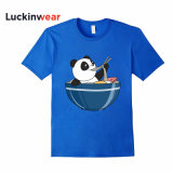 La mode masculine Panda O-cou Slim Fit T-Shirt
