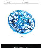 Brinquedo Creatative lado interativo do Sensor de Movimento Mini Controle Drone Voar Aeronaves do Sensor