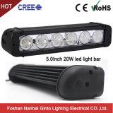 Intensité élevée de 60W 11pouces CREE LED simple rangée pour barre d'éclairage Offroad 4X4 (GT3301-60W)