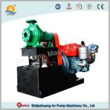 Conjunto pequeno motor a gasóleo agrícola da bomba de água centrífuga de irrigação