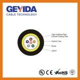 Sm/mm tubo solto o cabo de fibra óptica