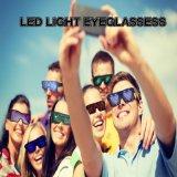 Gafas gafas luminosas LED Iluminación intermitente USB gafas Gafas de sol de pago