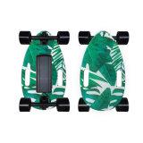 Mini Skate Elétrico 150W única correia de madeira de ácer motorizado impulsionado e andar de skate Board