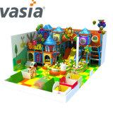 2019 Huaxia Trampoline et château gonflable pour enfants sur le terrain de jeux Trampoline avec filet de sécurité