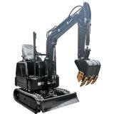 La Chine Mini-excavatrice chenillée machinerie de construction utilisés pour la vente