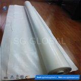 Bâche de protection blanche traitée aux UV de PE de qualité en roulis