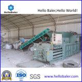 Máquina de recicl hidráulica horizontal da imprensa para o plástico/cartão