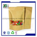 Nahrungsmittelgrad-Zucker, der Packpapier-Beutel verpackt