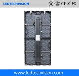 Visualización de LED de alquiler de la etapa al aire libre de la cartelera de la demostración viva P4.8mm