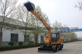 12 Tonnen-Rad-Exkavator mit Ausleger